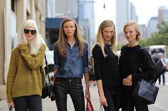New York Fashion Week Street Style, Spring 2015 | NYFW | Teen Vogue