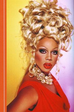 """Early Glamazon, Circa 1992""  RuPaul photographed by Mathu Andersen for Workin' It! RuPaul's Guide to Life, Liberty and the Pursuit of Style"