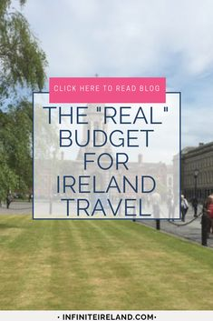 Knowing exactly how much a trip to Ireland will be can be daunting. Here you will find the most realistic budget for any vacation to Ireland. Wanting to see how much a trip to Ireland will cost and be Ireland With Kids, Ireland Travel Guide, Castles In Ireland, Ireland Vacation, Scotland Vacation, Ireland Landscape, Budget Travel, Travel Ideas, Europe Budget