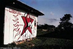 """""""Nos acompaño en un tour por México en 2001 y pintó varios murales para la comunidad. Después de que regresamos se mudo a Londores, y lo vemos de vez en cuando viene a Bristol. No acompañó en un segundo tour por México, pintó otros murales y cuidó nuestra portería. En realidad no era un mal portero.""""  El libro se llama""""Freedom Through Football: The Story Of The Easton Cowboys & Cowgirls""""por Will Simpson y Malcolm McMahon y lo puedes adquirir en el sítio en línea de la editoraTangent…"""