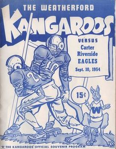 Weatherford Texas Kangaroos