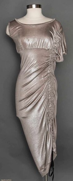 Vivienne Westwood Metallic Evening Gown, Early 1990s