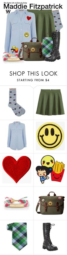 """""""The Suite Life of Zack & Cody"""" by wearwhatyouwatch ❤ liked on Polyvore featuring M&Co, Oasis, Big Bud Press, 3x1, Kate Spade, Pendleton, Tommy Hilfiger, television and wearwhatyouwatch"""