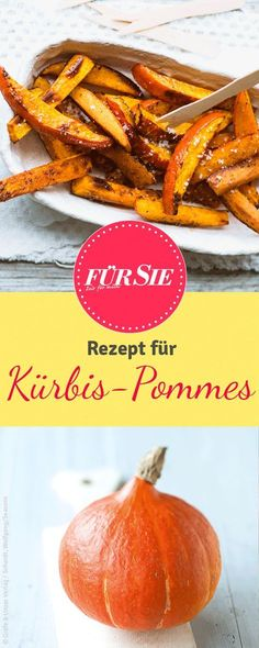Homemade pumpkin fries: it's that easy!-Kürbispommes selbstgemacht: So einfach geht's! With our recipe you make the perfect pumpkin fries. Pumpkin Recipes, Veggie Recipes, Baby Food Recipes, Fall Recipes, Cooking Recipes, Healthy Recipes, Homemade Baby Foods, Clean Recipes, Healthy Drinks