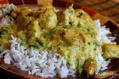 Basil Chicken in Coconut Curry Sauce - Tried and Tasty