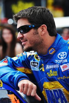 Martin Truex Jr!! Yep I'm a racing fan! Born and raised and married into it! :)