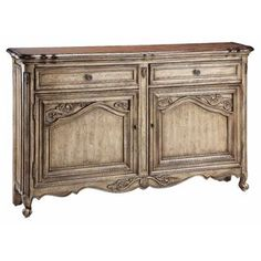Gentry Regal Sideboard | Overstock.com Shopping - Big Discounts on Buffets
