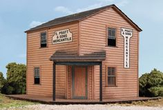 NEW Walthers HO Scale Cornerstone Series (R) USA Kit Lasercut Boomtown 933-2885 #Walthers