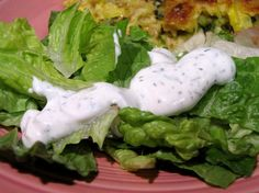 La Bou Creamy Dill Dressing.  Can't believe I haven't searched this out sooner!