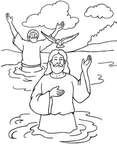 john the baptist coloring page | Vacation Bible School/ Sunday ...