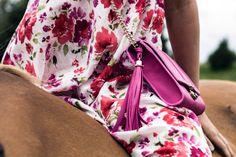 FIFTH MAY Chiara shoulder bag fuchsia  www.the-fifth-may.com
