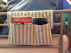 Remote control / phone holder  Bed pocket tidy  Bunk bed storage