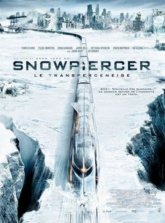 Snowpiercer , starring Chris Evans, Tilda Swinton, Ed Harris, Alison Pill. In a future where a failed global-warming experiment kills off most life on the planet, a class system evolves aboard the Snowpiercer, a train that travels around the globe via a perpetual-motion engine. #Action #Drama #Sci-Fi