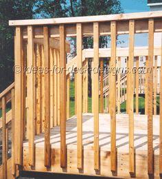 deck fencing ideas | Hand Railings