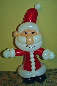 Balloon Santa. How c