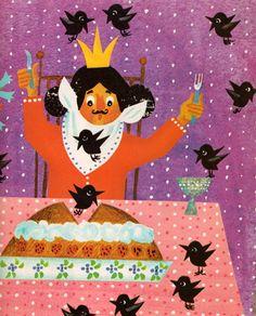 'Mother Goose Rhymes', illustrated by Krystyna Stasiak-Orska