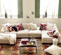 Decorando Dormitorios: Fotos de Cojines Decorativos para Salas
