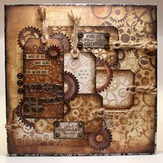 Bella's Creative Space: All about cogs Canvas