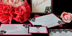 Invitations and reserved cards