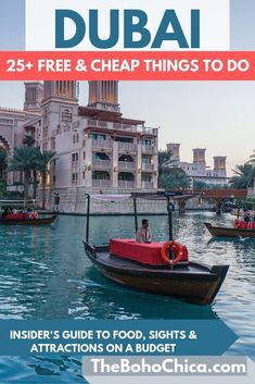 Best Places to Visit in Dubai for Free & Cheap and Free Things to do in Dubai: From watching flamingoes and Dubai's liveliest beach to the world's tallest dancing fountains, I've got you covered if you're visiting Dubai on a budget. Cheap Things To Do, Free Things To Do, Stuff To Do, Cool Places To Visit, Places To Travel, Places To Go, Travel Destinations, Voyage Dubai, Middle East Destinations