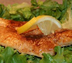 Baked Flounder Recipe with Lemon Juice