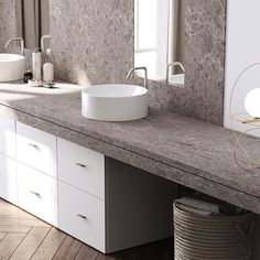 Viatera® - Collections   LG Hausys Quartz Slab, Quartz Countertops, Granite, Sink Inspiration, Lush Beauty, Countertop Options, Modern Baths, Wet Bars, Stone Slab