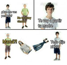 Cuando te parten tu madre.. Literalmente :'c Para más imágenes graciosas visita: https://www.Huevadas.net #meme #humor #chistes #viral #amor #huevadasnet
