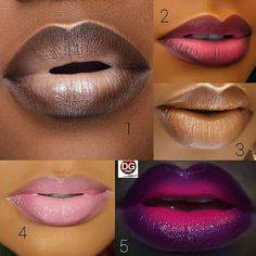 Trendy makeup looks for black women make up lip colors Ideas Makeup 101, Beauty Makeup, Makeup Looks, Eye Makeup, Hair Makeup, Makeup Lipstick, Black Lipstick, Clown Makeup, Beauty Tips