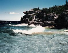 Georgian Bay, Ontario, Canada, 1988 (scanned from my prints)
