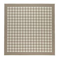 MILLINGE Vloerkleed, laagpolig - beige - IKEA