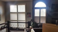 No matter the shape or size, we can custom make beautiful shutters for your windows.