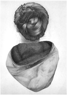 Reversed Portrait Pencil Series - Nettie Wakefield