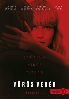 Trailers, TV spots, clips, featurettes, images and posters for RED SPARROW starring Jennifer Lawrence and Joel Edgerton. Mary Louise Parker, Joel Edgerton, 2018 Movies, Hd Movies, Movies To Watch, Movies Online, Movie Tv, Film Watch, Movies Free