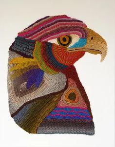 crochetart   Eagle