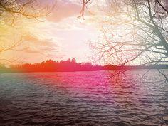 Lake Light Leak