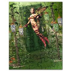 Gatterwe: The Way To Fairyland Puzzle: A fairy flies into the fairyland! The Fairyland is located behind a door in the forest. Fairy Land, No Way, Puzzles, Painting, Art, Puzzle, Riddles, Painting Art, Paintings