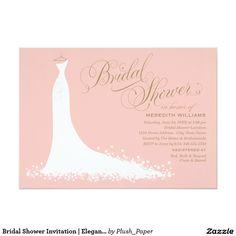 Bridal Shower Invitation  Perfect for a Disney, fairy tale, romantic or elegant wedding!