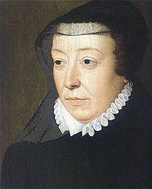 Caterina Maria Romula di Lorenzo de' Medici, Italia 1519 – 1589), regina consorte di Francia come sposa di Enrico II di Francia e reggente. Figlia di Lorenzo II de' Medici e di Madeleine de la Tour d'Auvergne, nelle sue vene scorreva sangue francese e italiano. E' una figura emblematica del XVI secolo. Il suo nome è legato alle guerre di religione contro le quali ha lottato tutta la sua vita. Sostenitrice della tolleranza civile, tentò numerose volte di seguire una politica di conciliazione.