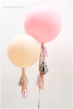 Pretty + Cool Wedding Balloons ~ Wedding Ideas