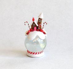 OOAK Miniatur Crystal Cottage Fantasy von ArtisticSpirit auf Etsy
