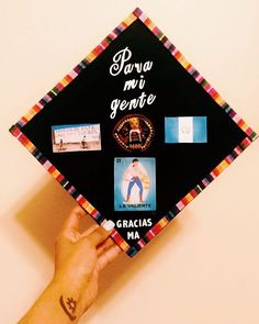 Pin for Later: Graduating Latinas Are Honoring Their Heritage With Inspiring DIY Caps Representing For Guatemalans