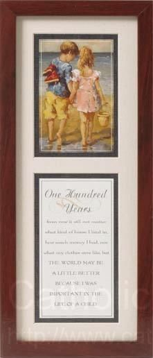 One Hundred Years Framed Art