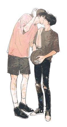 Too cute chanbaek fanart, kpop fanart, exo chanbaek, manga anime, manga boy Cute Anime Couples, Cute Gay Couples, Manga Boy, Manga Anime, Chanbaek Fanart, Exo Chanbaek, Kpop Fanart, Character Art, Character Design