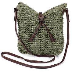 Summer Fresh Straw Knitting Women Handbag
