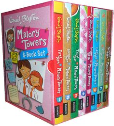 Enid Blyton Malory Towers Collection 8 Books Box Set Pack First Term at Malory