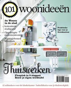 Cover Dutch creative interior magazine 101Woonideeen 06-2014
