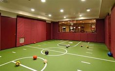 Representation of Indoor Basketball Court, Healthy Support for More Private and Fun Exercise Basement Gym, Basement Bedrooms, Basement Remodeling, Basement Walls, Unfinished Basement Playroom, Basement Entrance, Basement Laundry, Laundry Room, Cool Basement Ideas