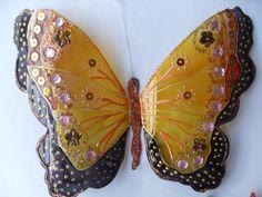 (4) Crea-Sol - Mariposas de botellas pet decoradas paso a paso de la...