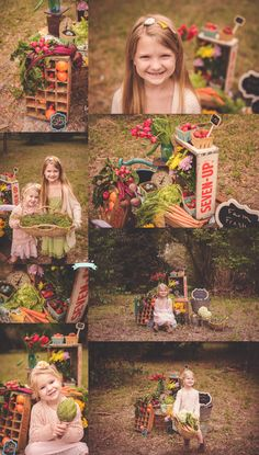 Farmer's Market Mini Session by Tara Merkler Photography, Central Florida Children's Photographer