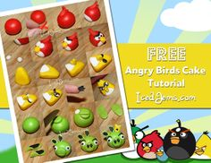 Angry Birds Cake Tutorial? Can some one make this for M's bday? :)